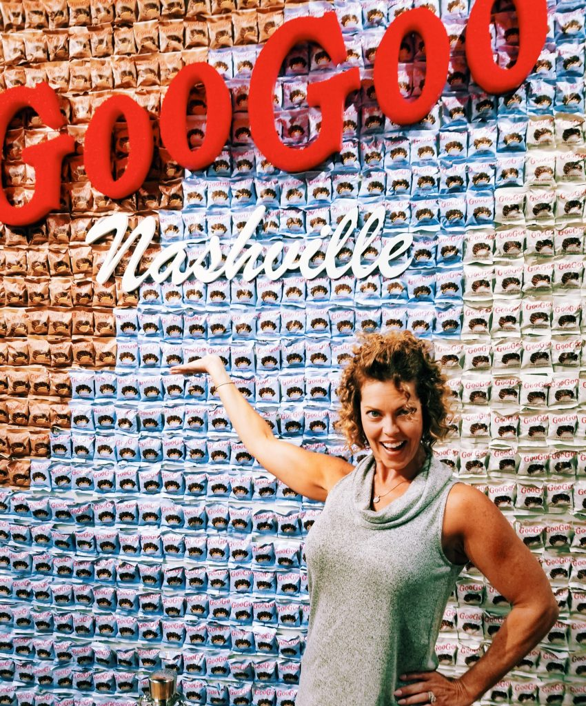 GG at the Goo Goo Wall