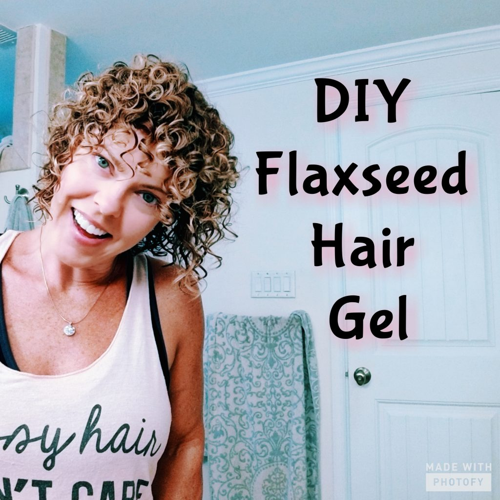 DIY Flaxseed hair gel