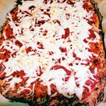 cauliflower pizza crust with cheese