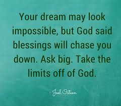Joel Osteen quote on dreams