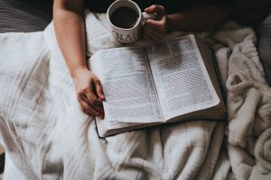 Making God a priority; fit God in everywhere, even in bed at night