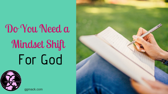Are you just not motivated enough to make that daily time for God? It is so hard to find that time, right? I want to give you just a few simple tips to make that mindset shift to spend time with Him daily. ggmack.com mindset #attitudeshift #motivation #timewithgod #faith #prayer