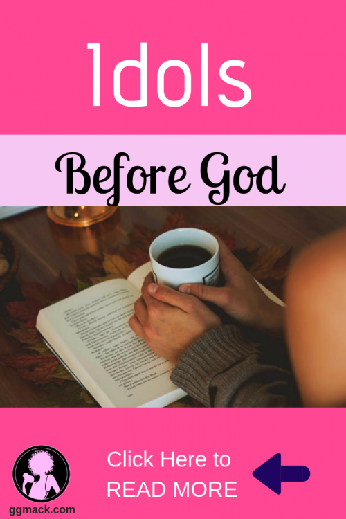 What idols are you putting for God? Is your job, singleness, kids, money, marriage...coming before God? Do you feel you are constantly waiting on things to change and just focusing on those idols? Read this blog for encouragement and how to put God first. #idols #wait #waitingforgod #faith #prayer #god #jesus #idolsbeforegod #waitingforgodstiming