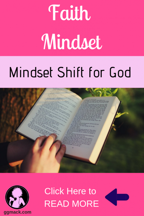 Are you just not motivated enough to make that daily time for God? It is so hard to find that time, right? I want to give you just a few simple tips to make that mindset shift to spend time with Him daily. ggmack.com #mindset #attitudeshift #motivation #timewithgod #faith #prayer