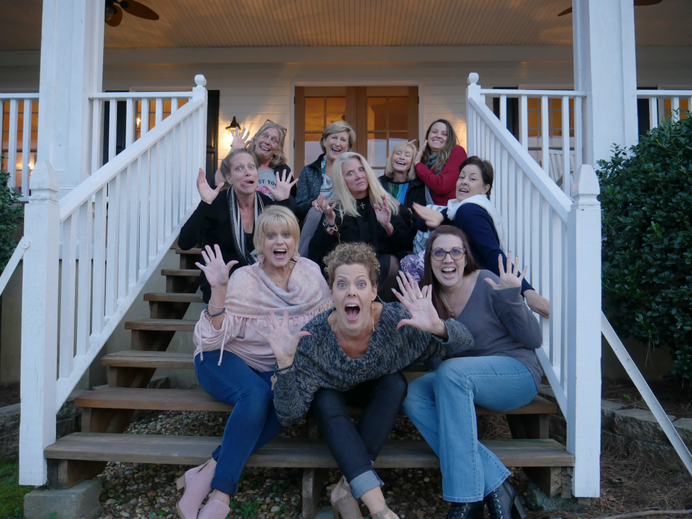 picture of ladies at Christian Women's Wellness Retreat