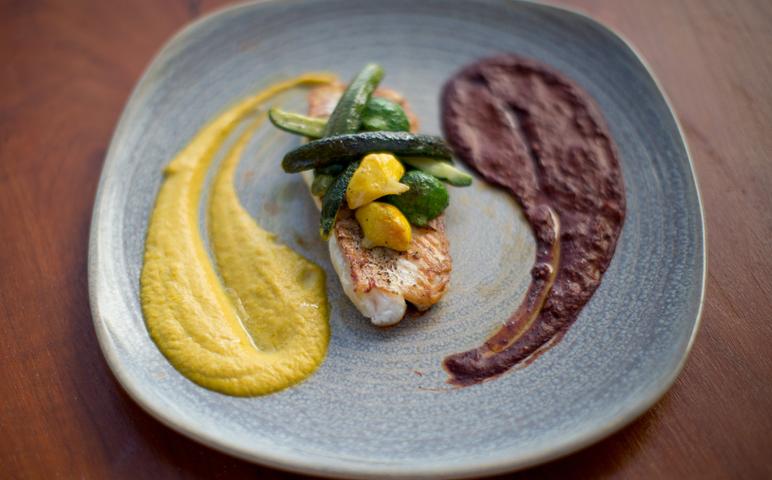 delicious chef prepared meal